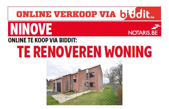 SHM Ninove-Welzijn cvba verkoopt: Rufin Pennestraat 62 – 9400 Appelterre